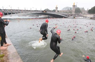 TRIATHLON DE PARIS 2012